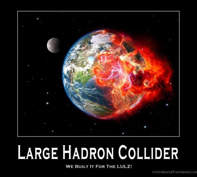 LHC earth destroyed