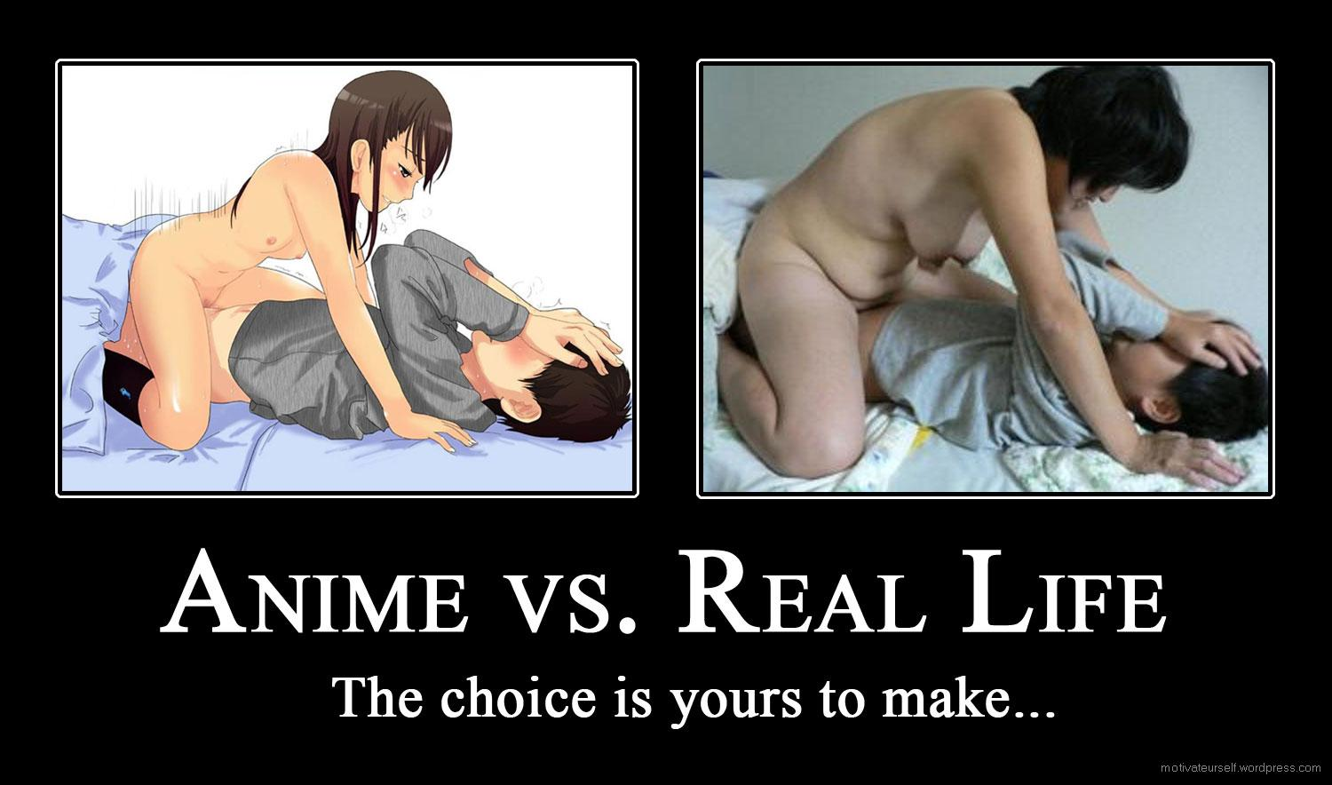 Hentai vs real porn sexual galleries